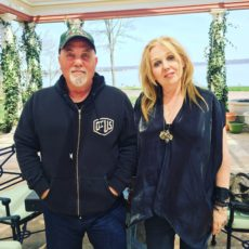 Billy Joel and Chrissy Iley