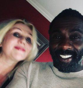 Chrissy Iley & Idris Elba