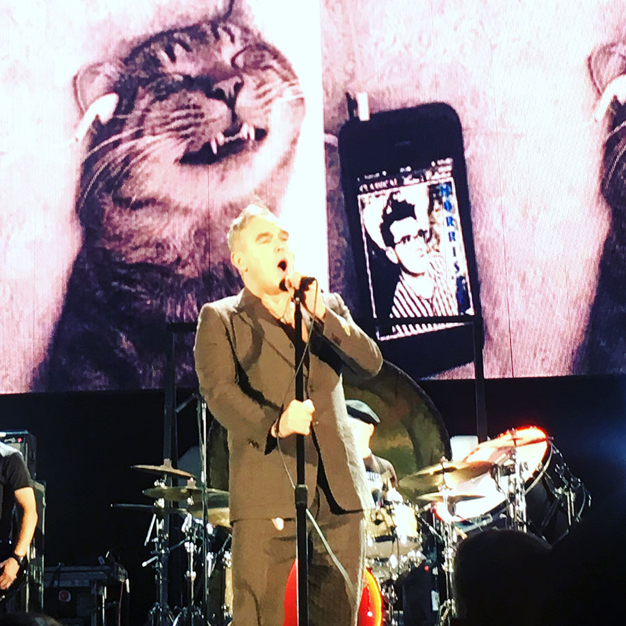 Morrissey at the Hollywood Bowl, November 3, 2017