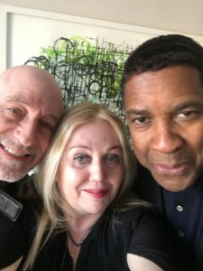 Denzel Washington & Chrissy Iley 2018
