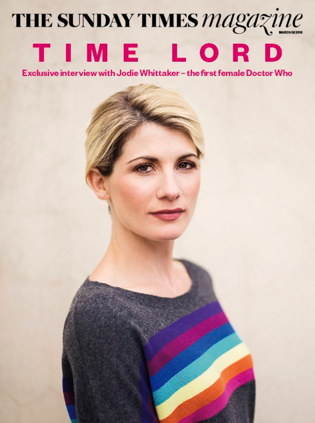 Jodie Whittaker (Sunday Times Magazine, March 18, 2018)