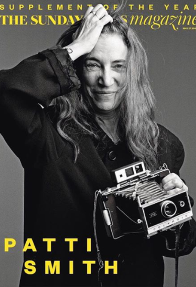 London Sunday Times Magazine featuring Patti Smith