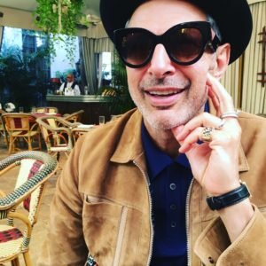 Jeff Goldblum rocks Chrissy Iley's shades