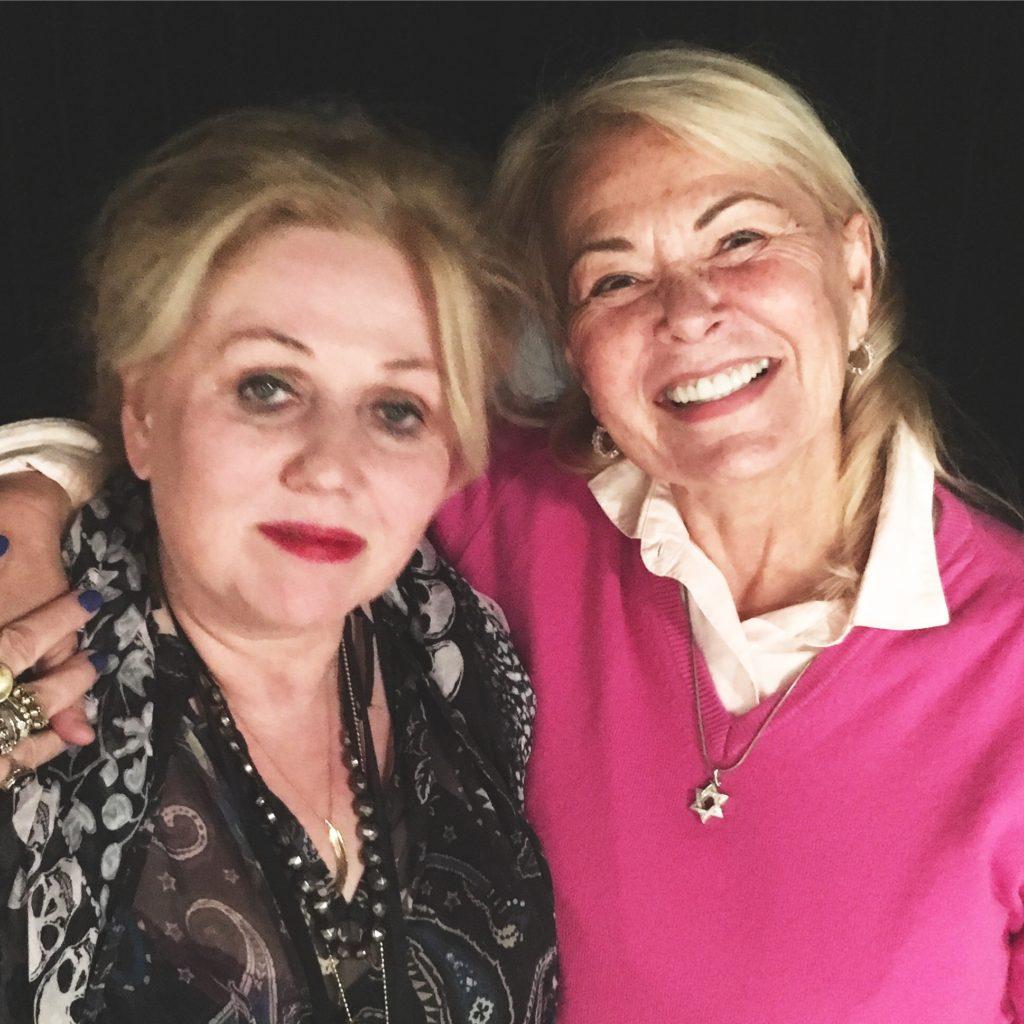 Chrissy Iley & Roseanne Barr