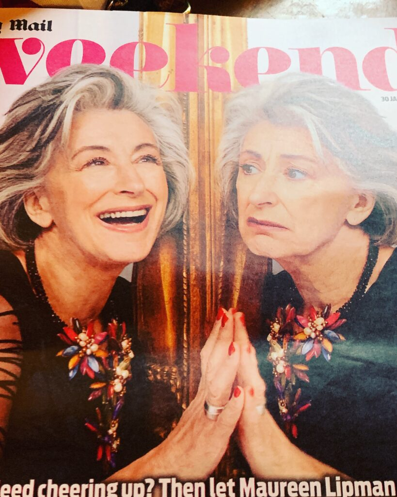 Cover of Weekend featuring Dame Maureen Lipman